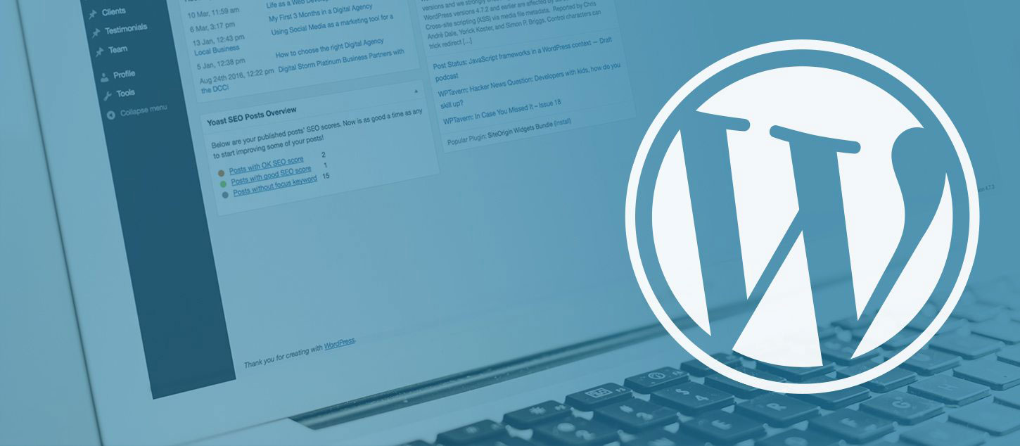 wordpress development kent